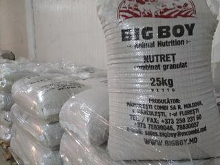Комбикорм-Nutret -BIg Boy -для птиц ,несушек ,перепелок ,продажа от производителя оптом и в розницу.