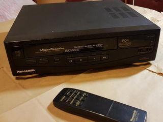 VHS видеомагнитофон пишущий Panasonic P04 - 300 лей