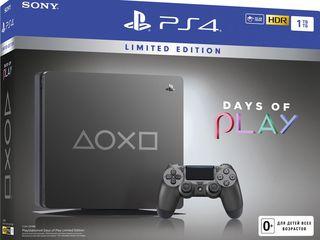 PlayStation 4 Slim 1T.Новый .Запечатанный/Игры/Джойстик
