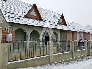 Casă în 2 nivele! Ialoveni, 130 m2 + 6 ari teren! Varianta albă!