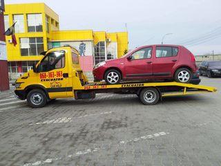 Tractari auto si asistenta tehnica rutiera Chisinau, Moldova,Romania,CSI,UE