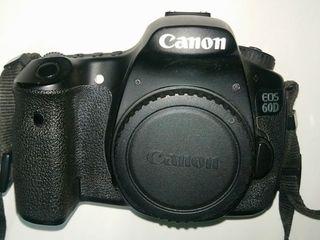 Продам Canon 60D body  - 190 евро (4 000 лей) или body с объективом 50mm 1.8 - 5700 лей