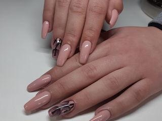 наращивание ногтей гелем качественно всё включено Alungirea