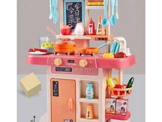 Кухонный набор(холодный пар,течет вода,с музыкой и светом) 60217