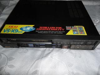 Видео магнитофон Akai VS-X9EGN и LG LH-T6340X (DVD/CD Receiver). Головки, иголки. Или меняю...