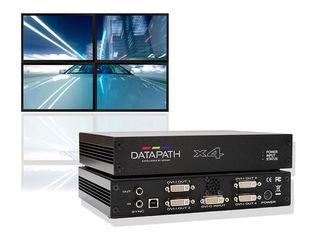 Perete video (Video wall) din televizoare LED obișnuite.