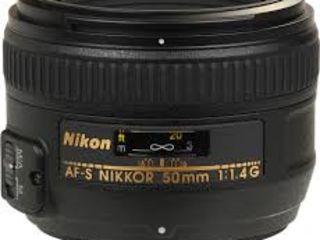 Nikon 50mm F/1.4g-320USD