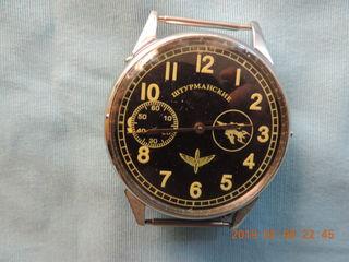 Наручные.   Карманные часы в серебрянном корпусе