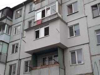 Хотите теплый современный балкон? Мы знаем об этом всё! Ремонт балкона,расширение всех серий, кладка