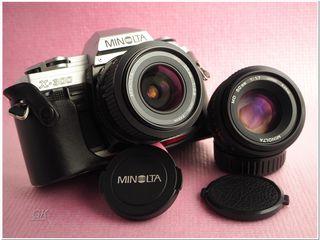 Minolta X300 + 2 FIX на Sony A7