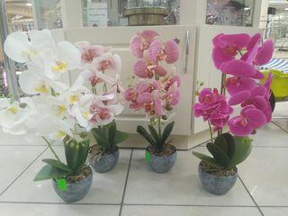 Орхидея искусственная. Цветет круглый год!