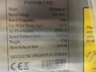 Gree conditioner industrial 380V vara/iarna nou