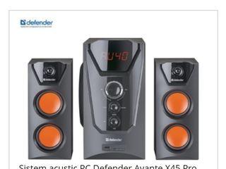 Sistema acustica defender avante x45 pro