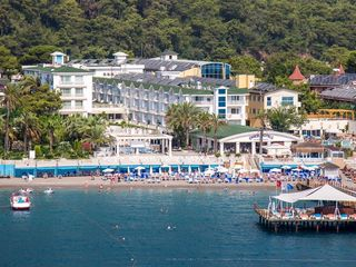 Onkel resort hotel 5*(турция бельдиби) море зовет!
