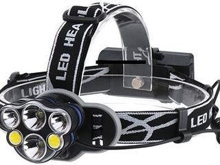 Налобные фонари на батарейках/аккумуляторах , велосипедные. Lanterne pe cap.