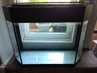 Продам панорамный аквариум