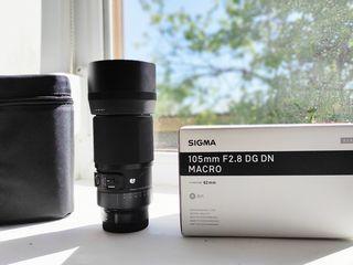 Vand Sigma 105mm f/2.8 DG DN Macro Art Lens SONY