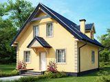 Casa cu 2 nivele 140 m2 rezistenta seismica si eficienta termica!
