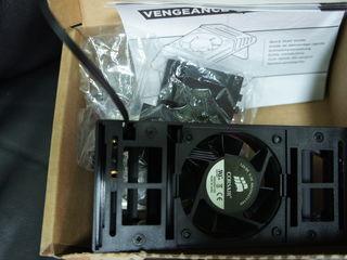 Система охлаждения  - vengeance и vengeance pro  -  новая   в  коробке  для  ddr 3 ram