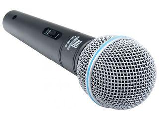 Microfon universal pentru voce - Pronomic DM-58-B Microfon + Cablu / Универсальный микрофон
