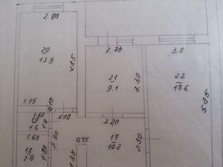 2-х комн.квартира, 1 этаж, свежий ремонт.