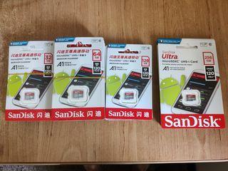 Carduri de memorie SanDisk 32GB / 64GB / 128GB / 256GB
