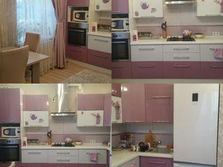 Трех комнатная квартира с евроремонтом, мебелью, техникой.