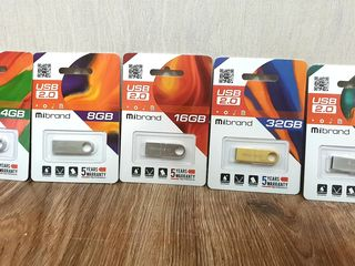 USB 2.0 Флеш накопитель MIBrand 4, 8, 16, 32, 64 ГБ, Микро СД карты, Внешний Жёсткий Диск 2 ТБ