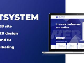 Servicii Web, web-Site, web-Design, Brand ID.