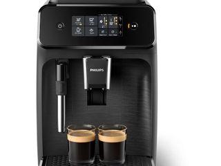 Espressor automat EP1220/00 Philips, 15 bar, 2 bauturi, Afisaj tactil, Rezervor 1.8 l,