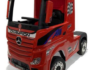 Mercedes Truck electric pentru copii posibil in RATE la 0%