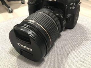 Canon EOS 80D + Canon 17-55, F2.8