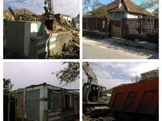 Снос старых домов и построек советского союза. demolarea caselor vechi