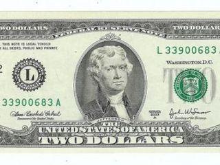 Schimb bancnota de 2$