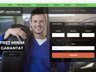 Se vinde magazin online profitabil de vanzari online - anvelope auto , uleiuri, acumulatoare.