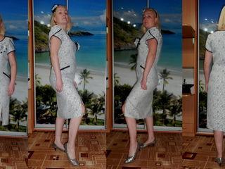 "Платье ""Ненси"" мама- дочка!!! Размер M/L."