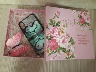 Именные чехлы чашки кружки подарок с фото и собственным дизайном visul tău pe-o husă de telefon cană