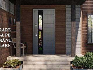 Входные металлические  двери  МДФ и дуб и фанера влагостойкая