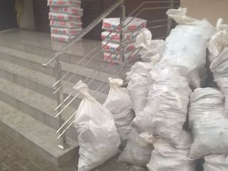 Transport și hamali ridicarea materialelor de construcții ect