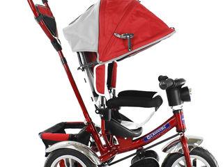 Трехколесный велосипед Glamvers Tiger (Red). Tricicleta