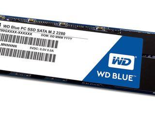 Новый SSD M2 WD Blue на 250gb, недорого