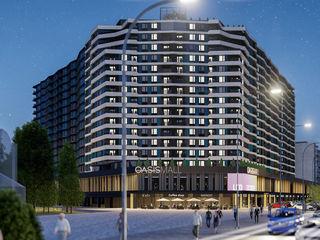 Apartament Riscani OASIS - 74990 euro, etaj 15 cu lift separat