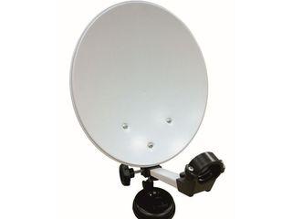 Antena de satelit pentru șoferi de curse lungi.