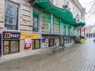 Centru, str. Mihai Eminescu, chirie spațiu comercial, oficiu,  152 m.p, 1 500€