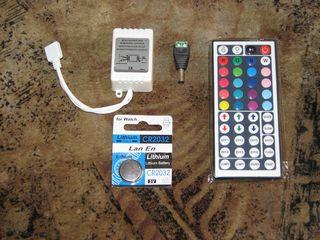 Продам новый LED RGB контроллер с пультом для светодиодной ленты 12 В