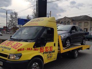 Servicii evacuator Moldova. Evacuator Non-Stop Chisinau