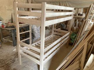 Paturi etajate din lemn,frasan