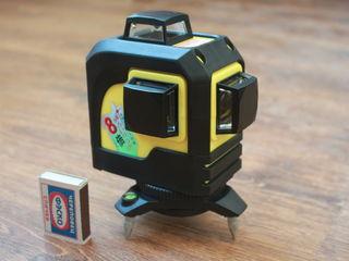Профессиональный лазерный уровень 3D нивелир,аналог  bosch gl 3-80.