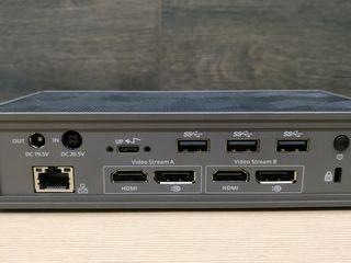 Док-станция Targus USB-C -  5K/4K or dual 4K UHD monitor video via 2 DisplayPort