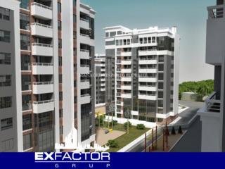 Exfactor Grup - Buiucani, 2 camere 70 m2 et. 3 de la 550 € m2 prețul 38.500 € cu prima rată 11.500 €